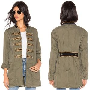 Free People Passenger Military-Inspired Jacket